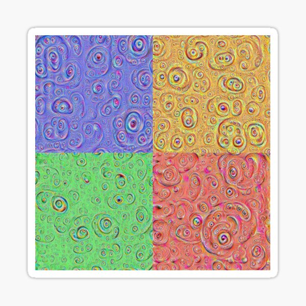 DeepDream Full 8K Sticker