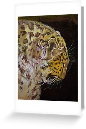 Amur Leopard by Michael Creese