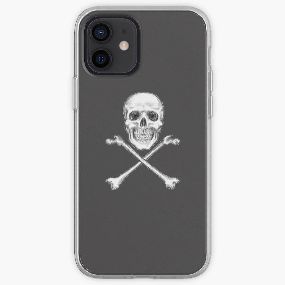 Skull and Crossbones iPhone Case & Cover