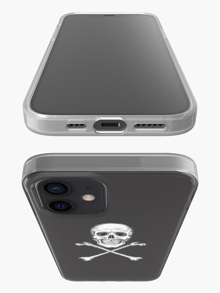 Alternate view of Skull and Crossbones iPhone Case & Cover
