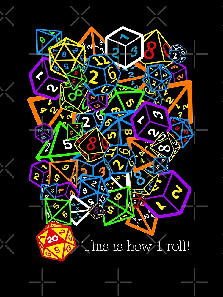 D&D (Dungeons and Dragons) - This is how I roll! by ccorkin