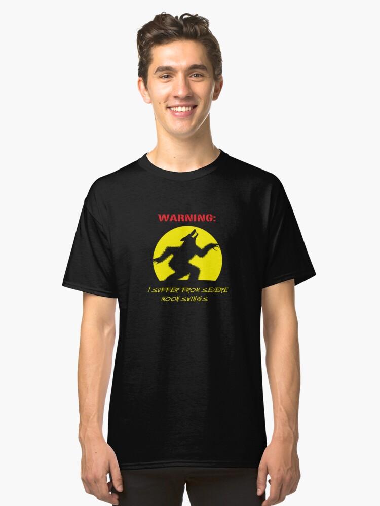 Alternate view of Moon Swings Classic T-Shirt