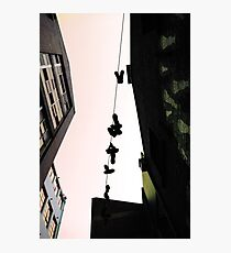 Living on a Shoestring Photographic Print