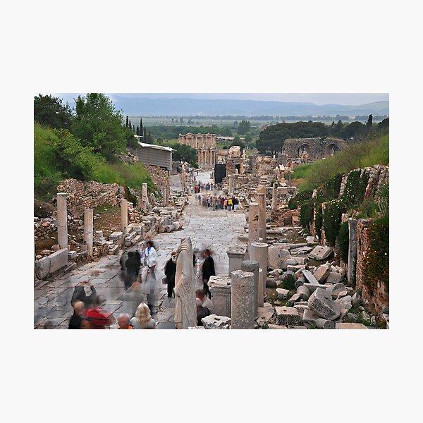 Main Street, Ephasus Photographic Print