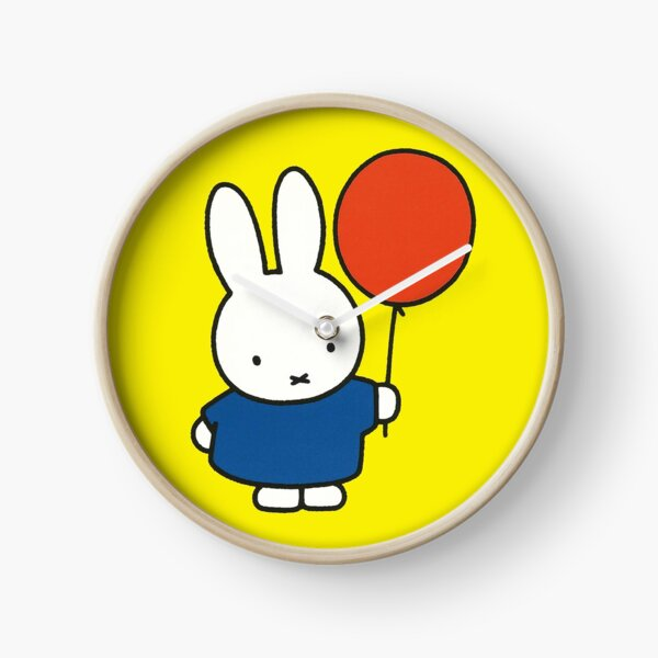 Nijntje - Miffy with a balloon Clock