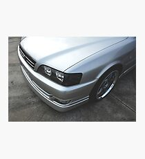 Silver Chaser Photographic Print