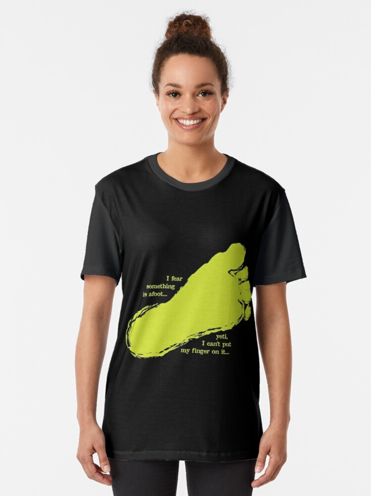 Alternate view of Yeti Graphic T-Shirt