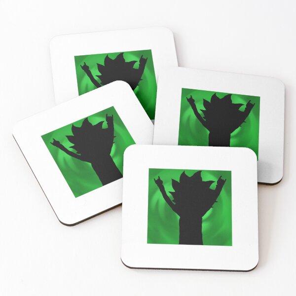 Tiny Rick Portal Coasters (Set of 4)