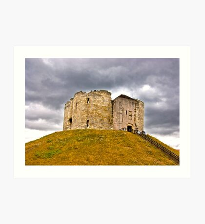 Clifford's Tower - York Art Print