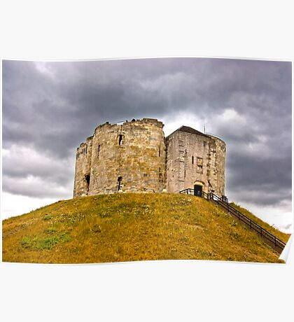 Clifford's Tower - York Poster