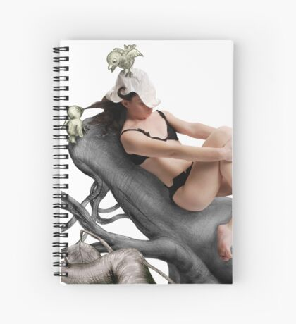 Arual the Elf Spiral Notebook