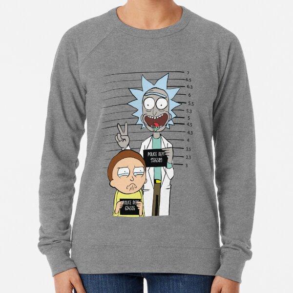Rick y Morty más buscados Sudadera ligera