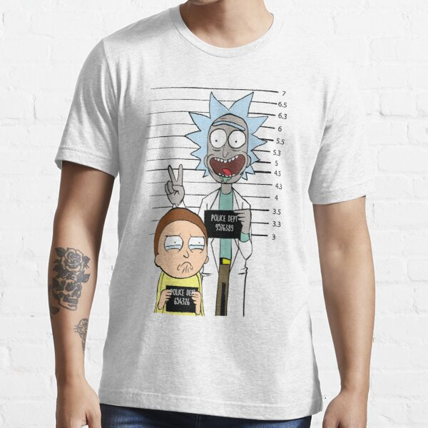 Rick and Morty Most Wanted Essential T-Shirt