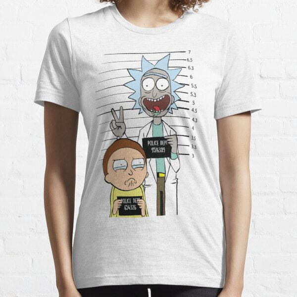 Rick y Morty más buscados Camiseta esencial