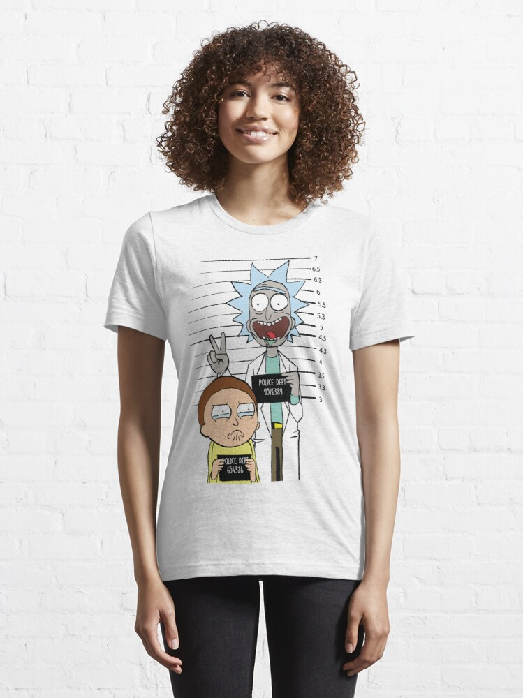 Alternate view of Rick and Morty Most Wanted Essential T-Shirt