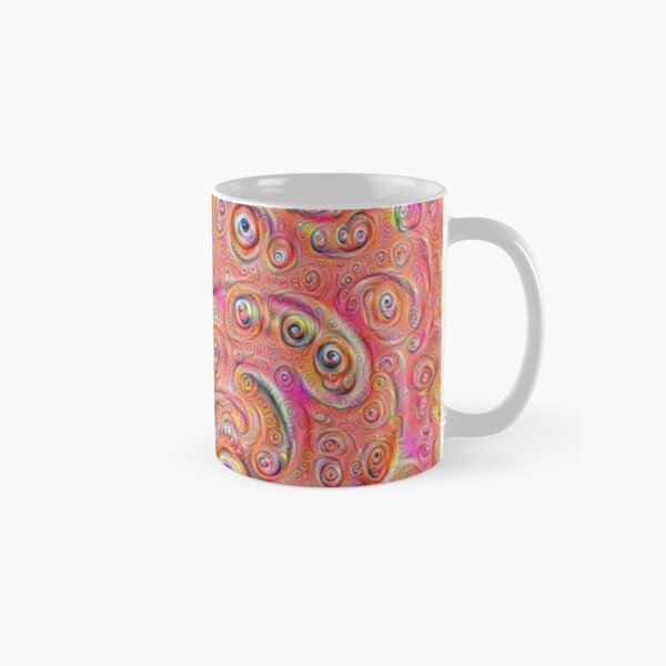 DeepDream Red Full 4K Classic Mug