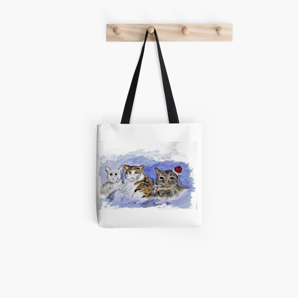 Cat Pals Tote Bag