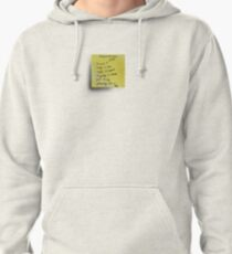Post-it Note Tee Pullover Hoodie
