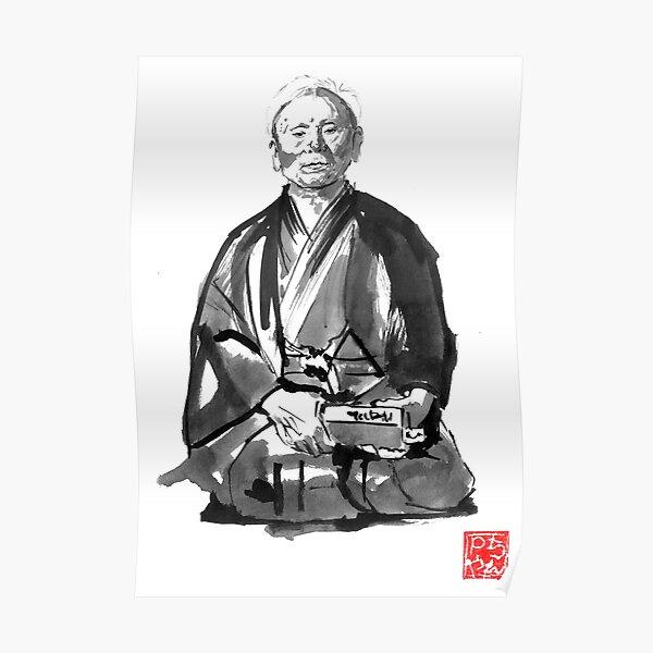 Gichin Funakoshi Poster