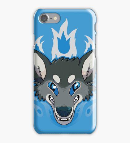 Fiery Wolf iPhone Case/Skin