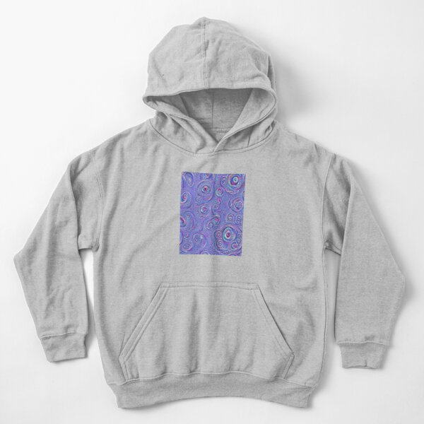 DeepDream Blue Full 4K Kids Pullover Hoodie