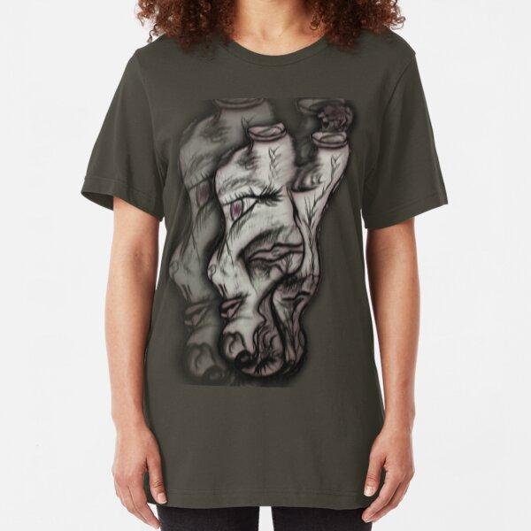 Organic Face of Mine... Slim Fit T-Shirt