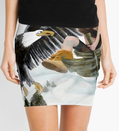 Winter is coming Mini Skirt
