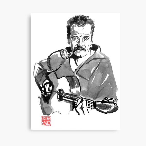 georges brassens Canvas Print