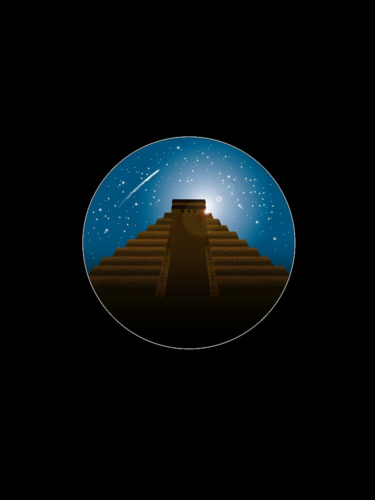 Mayan Temple by twistedshadow