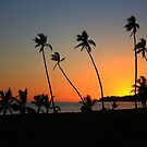 Fiji Sunset - Plantation Island by Graeme Lawry