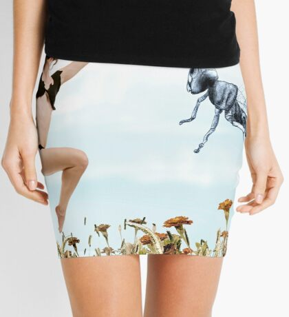 Jump like a cricket Mini Skirt