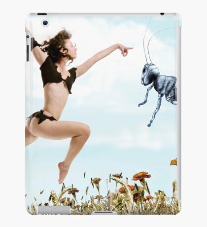 Jump like a cricket iPad Case/Skin