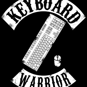 Keyboard Warrior by thehappyiceman7