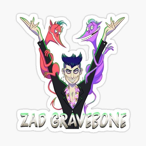 Zad Gravebone Sticker