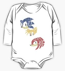 Sonic, Tails & Knuckles One Piece - Long Sleeve