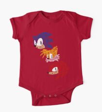 Sonic, Tails & Knuckles One Piece - Short Sleeve