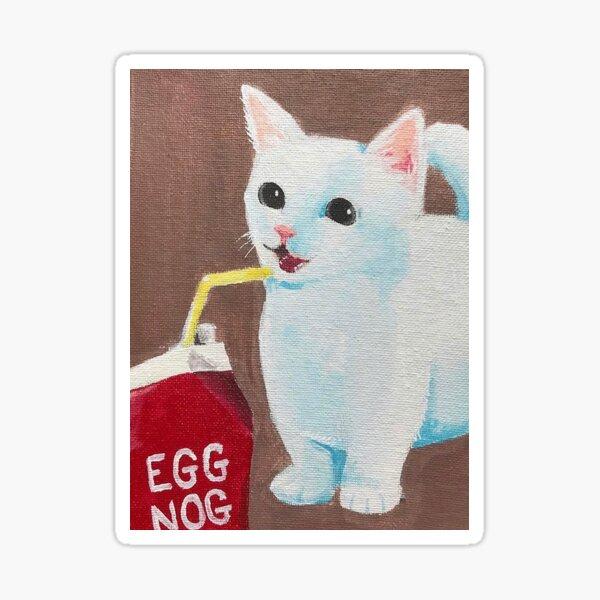 Egg Nog Sticker