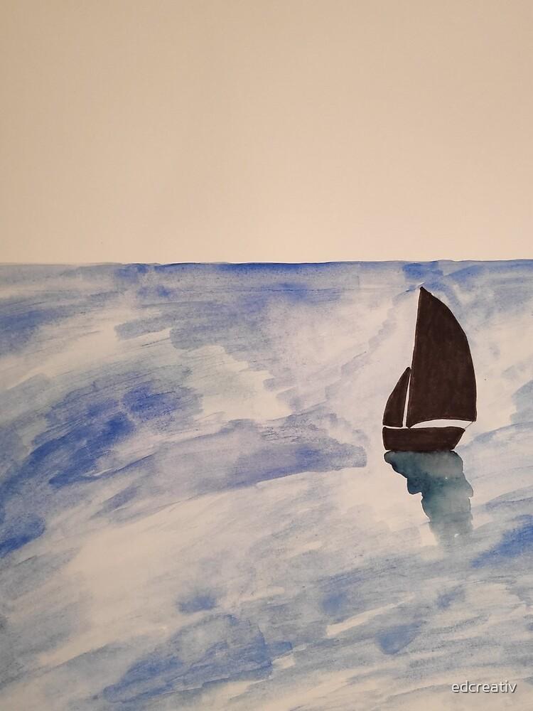 Sailing boat by edcreativ