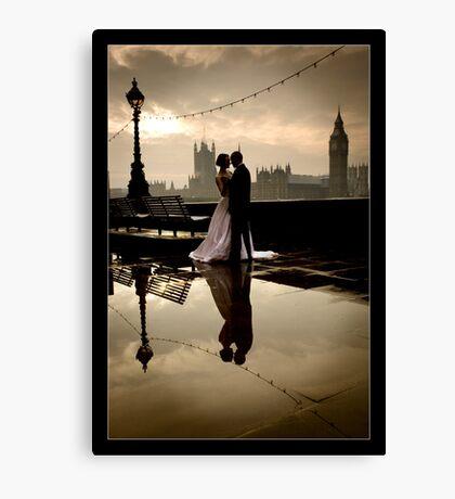 Love in London Canvas Print