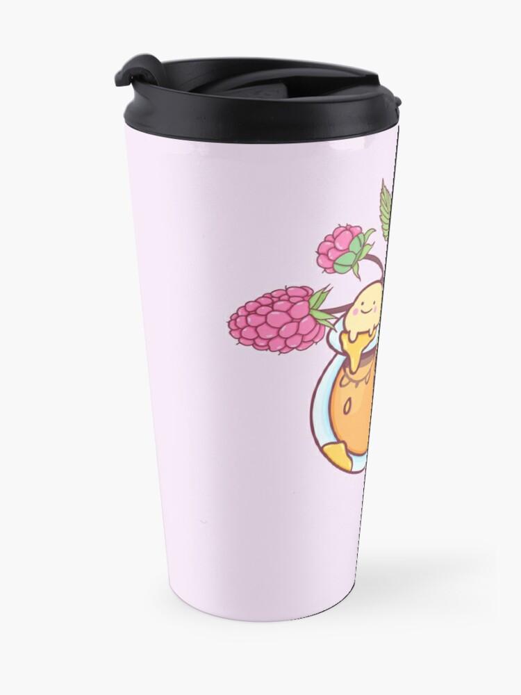 Alternate view of Happy Bees in a Honey Jar Travel Mug