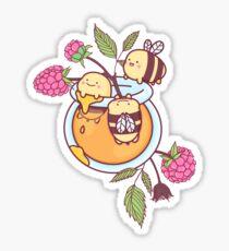 Glückliche Bienen Sticker