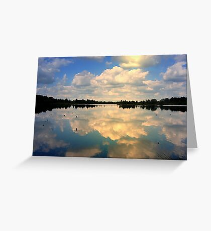 Sunlight and reflections Greeting Card