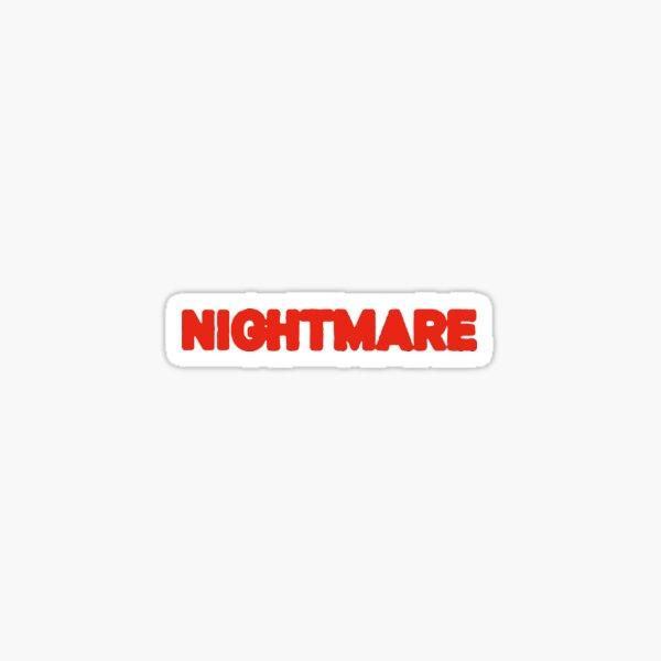Halsey's Single Nightmare  Sticker