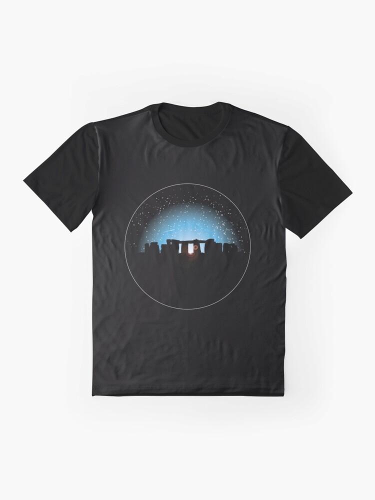 Alternate view of Stonehenge Twilight Graphic T-Shirt