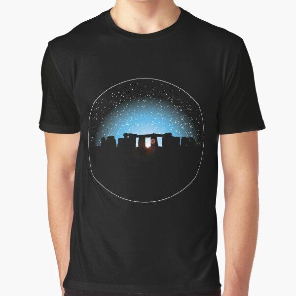 Stonehenge Twilight Graphic T-Shirt