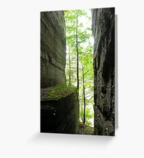 Walls of Stone Greeting Card