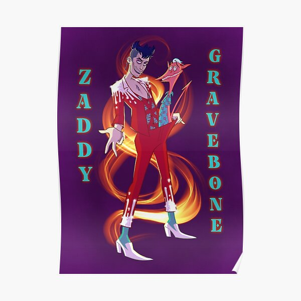 Flaming Zaddy Poster