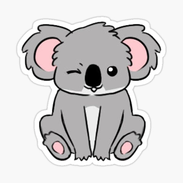 Save the koalas Sticker