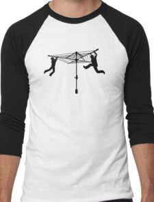Merry Go Hills Hoist Men's Baseball ¾ T-Shirt