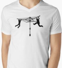 Merry Go Hills Hoist Men's V-Neck T-Shirt